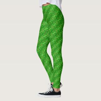 Cells Green Leggings