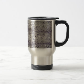 Cells of a root under the microscope. travel mug