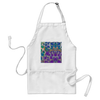 Cellular Abstract Pattern 17 Standard Apron