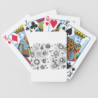 Cellular Design Bicycle Playing Cards