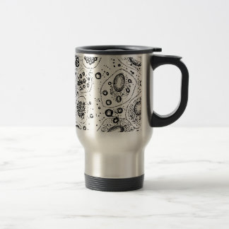 Cellular Design Travel Mug