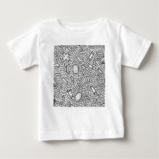 Cellular Indonesian Textile Pattern Baby T-Shirt