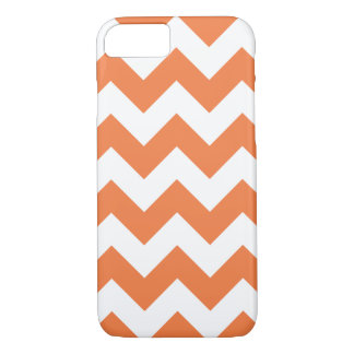 Celosia Orange Chevron Zigzag iPhone 7 Case