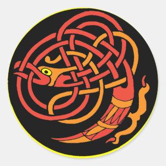 Celt Classic Round Sticker