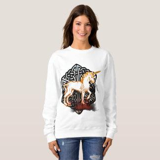 Celt Unicorn Ladies Sweatshirt