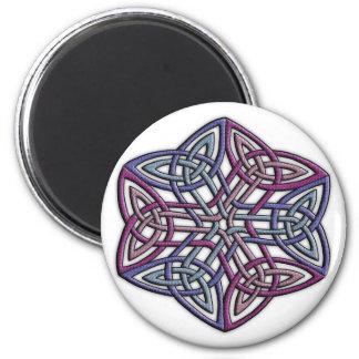 Celtic 2 6 cm round magnet