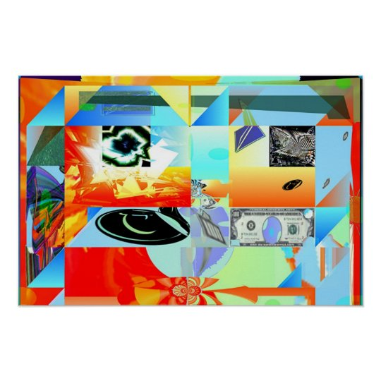 Celtic Abstract Poster