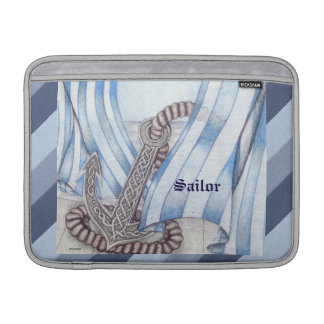 Celtic Anchor Nautical MacBook Sleeve