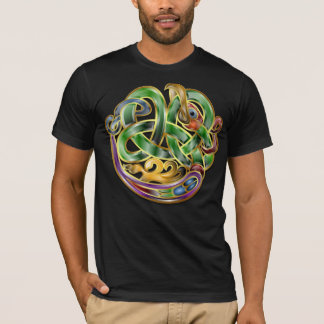Celtic Art Knot Dragon T-Shirt