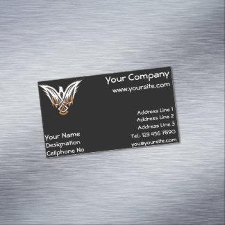 Celtic Bird Magnetic Business Cards