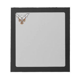 Celtic Bird Notepad