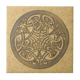 Celtic birds Tile