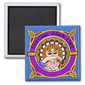 Celtic Birth Blessings Magnet