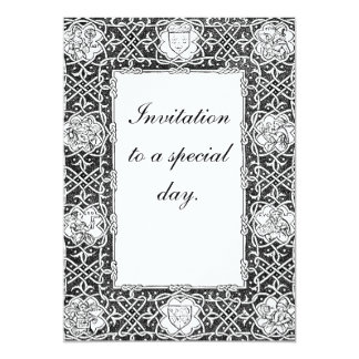 Celtic Border Personalized Invites