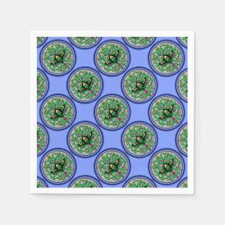 Celtic cartouche disposable serviette