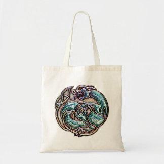 Celtic Cat Tote Bag