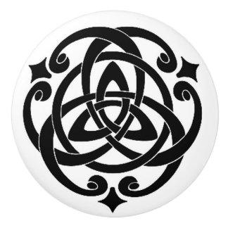 Celtic Ceramic Knob
