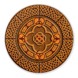 Celtic Circle Furniture Ceramic Knob
