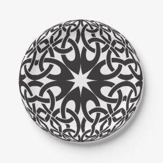 Celtic Circle Paper Plate