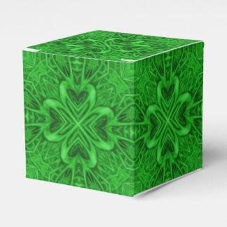 Celtic Clover Classic 2x2 Favor Box