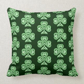 Celtic Clover Cushion