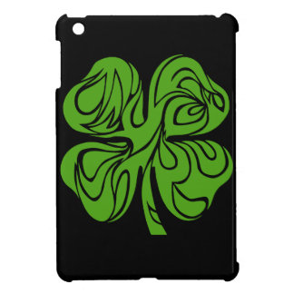 Celtic clover iPad mini cases