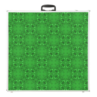 "Celtic Clover Kaleidoscope  96""  Pong Table"