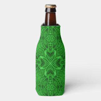 Celtic Clover Kaleidoscope Bottle Cooler