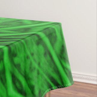 Celtic Clover Kaleidoscope Cotton Tablecloth