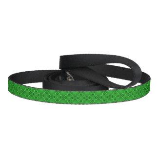 Celtic Clover Kaleidoscope   Dog Leash