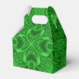 Celtic Clover Kaleidoscope Gable Favor Box