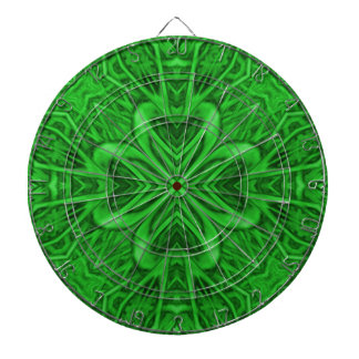 Celtic Clover Kaleidoscope Metal Cage Dartboards