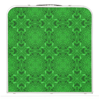 Celtic Clover Kaleidoscope Tailgate Pong Table