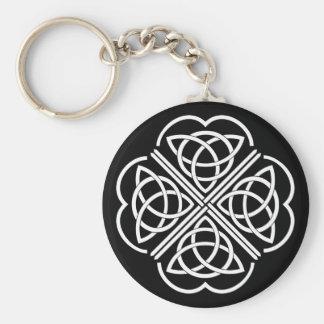 Celtic Clover - Keychain