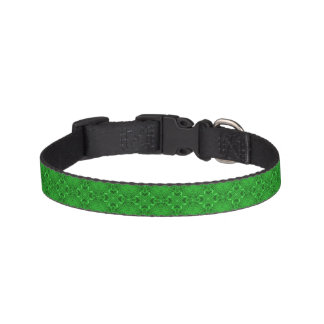 Celtic Clover Tiled Dog Collars