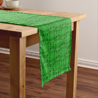 Celtic Clover Tiled Table Runner