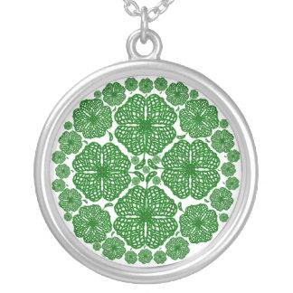 Celtic Clovers Custom Necklace