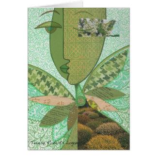 Celtic Collage Card