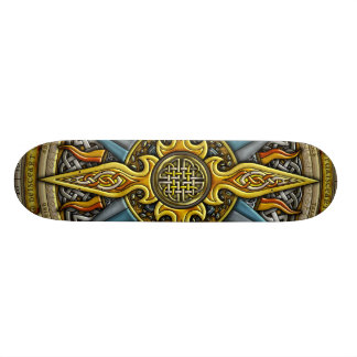 Celtic Compass Skateboard