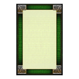 """Celtic Corners Six"" Fine Lined Stationery"