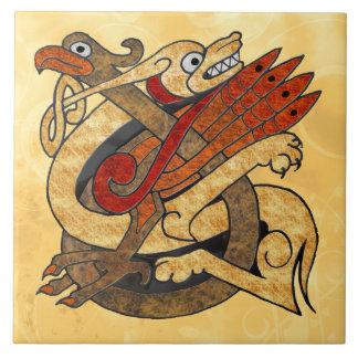 Celtic Creatures Ceramic Tile