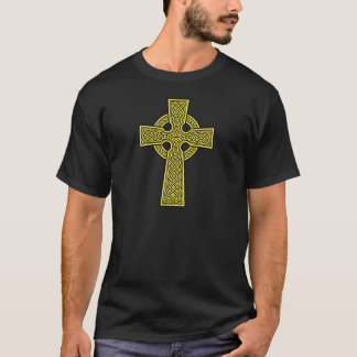 Celtic Cross 2 gold T-Shirt