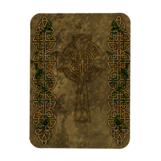 Celtic Cross and Celtic Knots Flexible Magnet