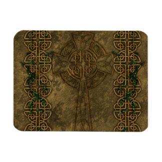 Celtic Cross and Celtic Knots Rectangular Magnet