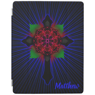 Celtic Cross and Rose iPad Cover