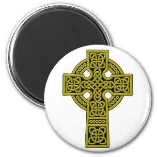 Celtic Cross bronze Fridge Magnets