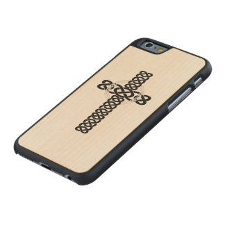 Celtic Cross Carved® Maple iPhone 6 Case