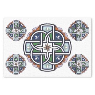 Celtic Cross Deco Tissue Paper