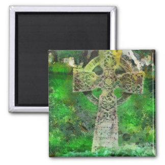 Celtic Cross Gravestone Magnet