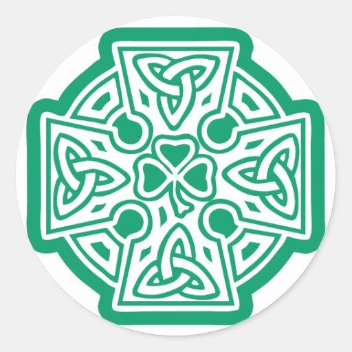 Celtic Cross I Sticker